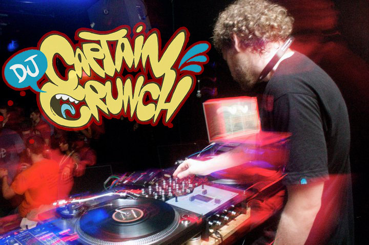 DJ Captain Crunch Booking Agent