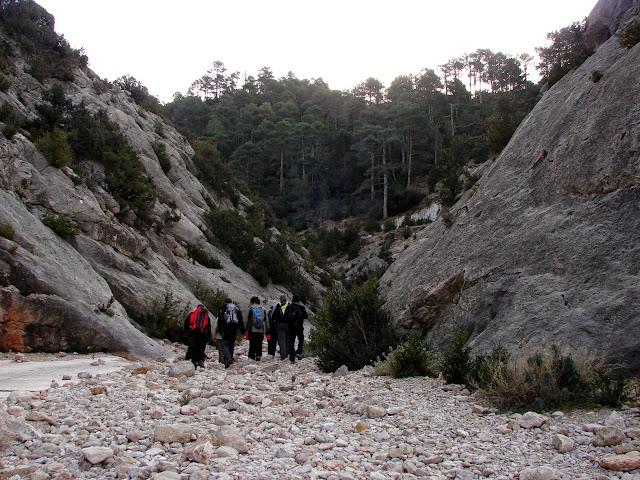 Senderismo - La Franqueta - Carrer Ample - Ref. Clotes - Cova Serena