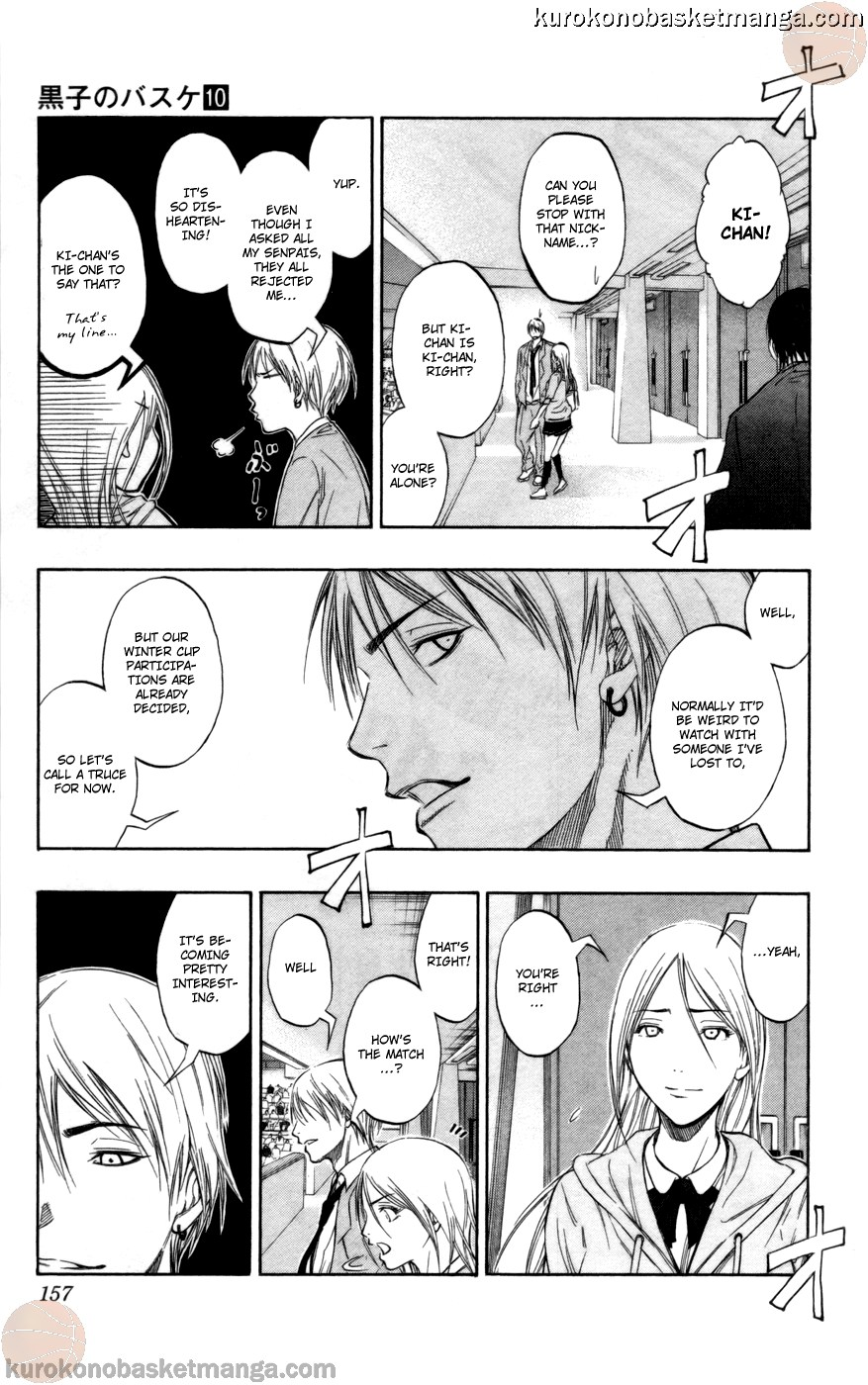 Kuroko no Basket Manga Chapter 88 - Image 07