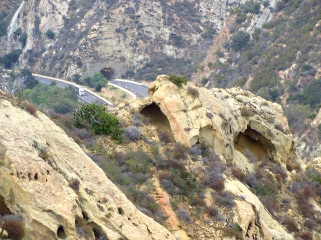 some caves and the Gaviota Tunnel