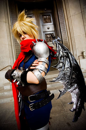 Kingdom Hearts Cloud Strife Cosplay 01