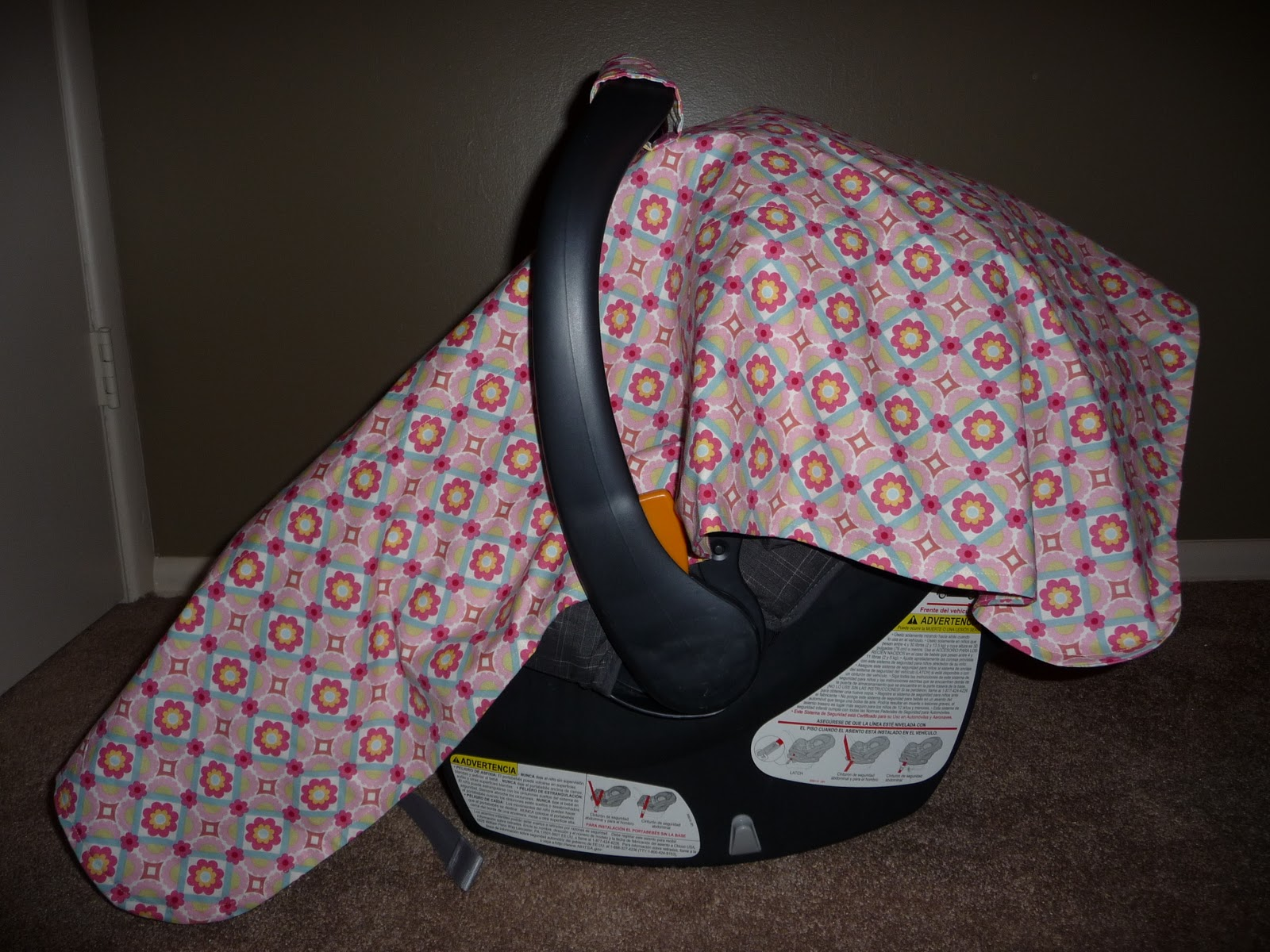 Car Seat Canopy Tutorial Chicco