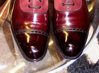 Customer's Shoes - And My Shine