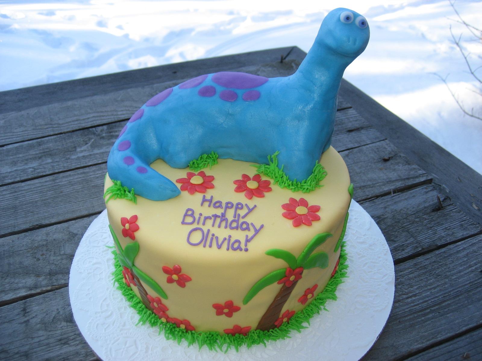 BeNi Cakes Blue Dinosaur