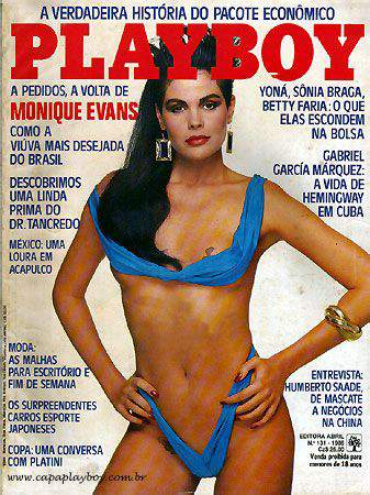 Monique Evans - Playboy 1986