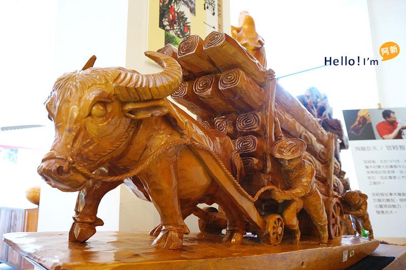 台中龍井景點,希諾奇檜木博物館-5