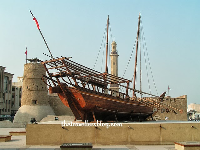 Dhow, Dubai Museum (formerly al-Faheidi fort), Dubai