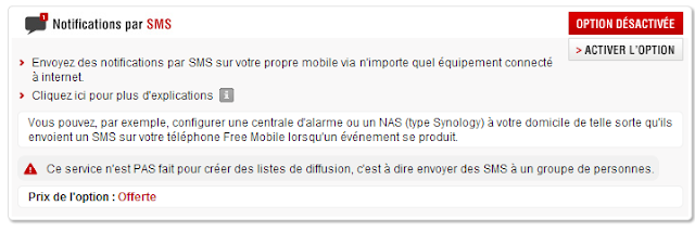 free3 A relire : Notification SMS avec Free  avec la Eedomus