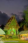 Evening happening at Wat Klong Prao