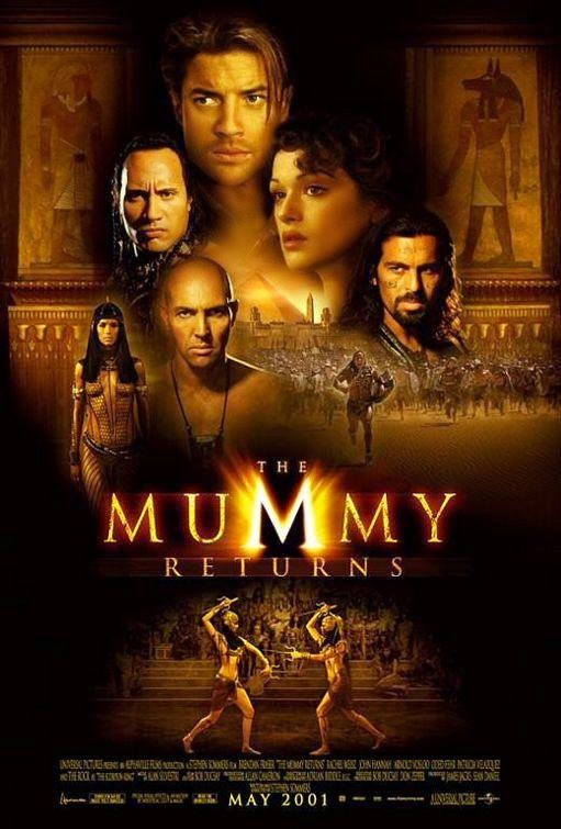 Poster Of The Mummy Returns (2001) Full Movie Hindi Dubbed Free Download Watch Online At Alldownloads4u.Com