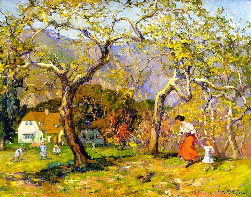 Franz Bischoff - A Spring Poem
