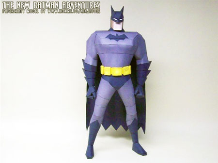 The New Batman Adventures Papercraft