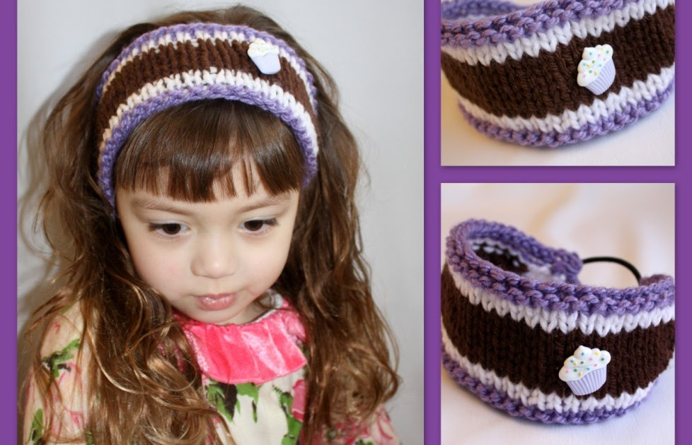 The Createry Shop Knitted Headband For Toddlers All
