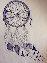 dreamcatcher tattoo drawing 5