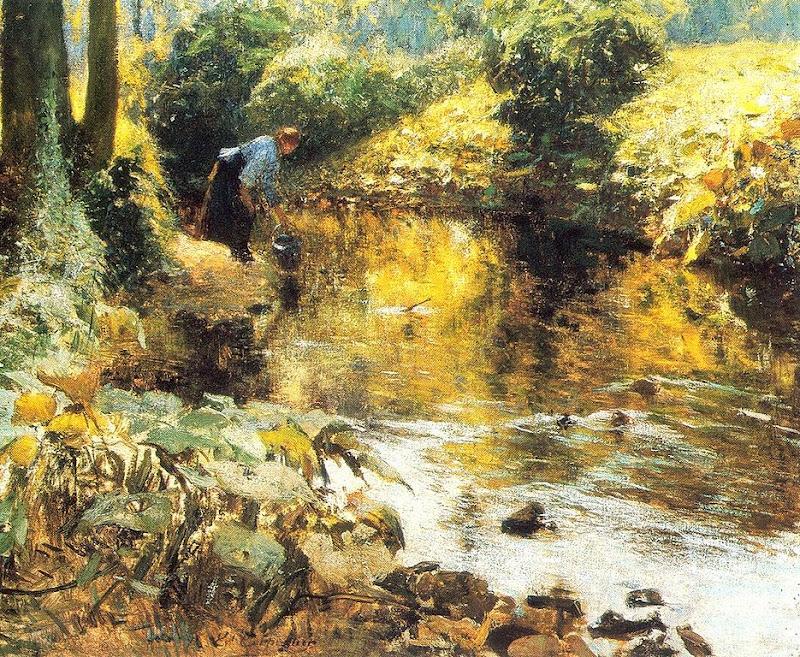 Evariste Carpentier - Près de la rivière