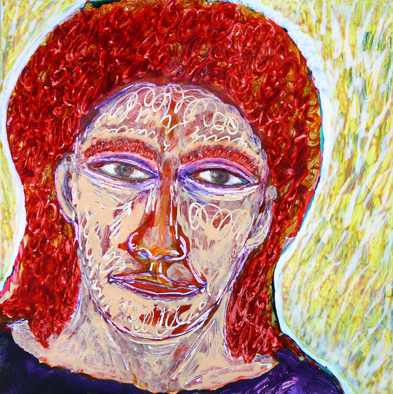 notre dame des anges (curly red hair), frank waaldijk