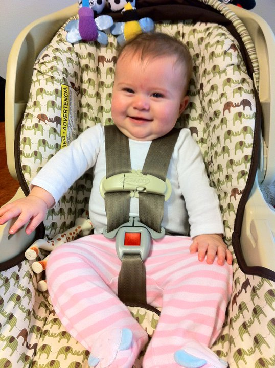 And Baby Makes Three Big Girl Car Seat
