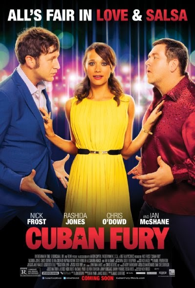 Poster Of English Movie Cuban Fury (2014) Free Download Full New Hollywood Movie Watch Online At Alldownloads4u.Com