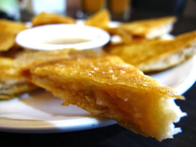 月亮蝦餅近照-二分之一泰式小館,台中泰式料理餐廳