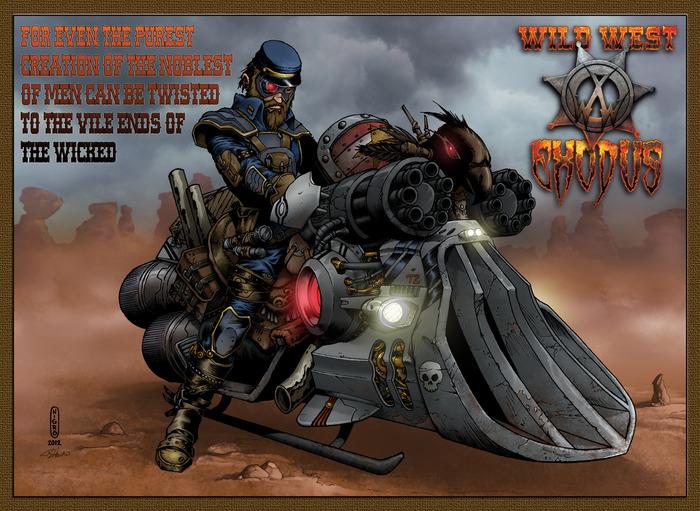 Игра с миниатюрами Wild West Exodus