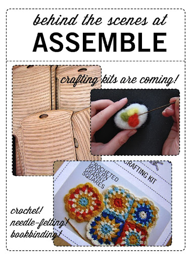 crafting kits needle felting bookbinding crochet