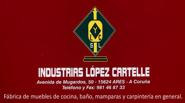 Industrias López Cartelle, colaborador coa A.D.R. Numancia de Ares.