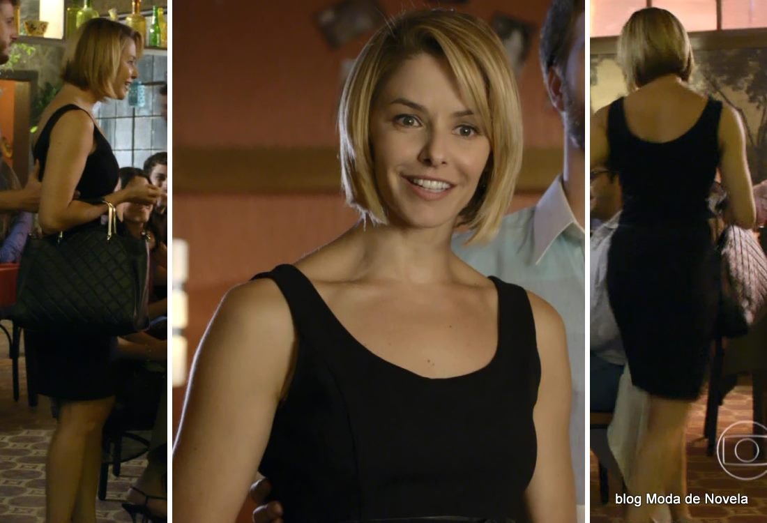 look da Silvia na novela Em Família