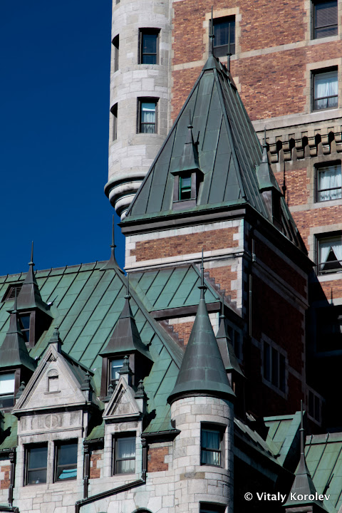 Chateau Frontenac towers