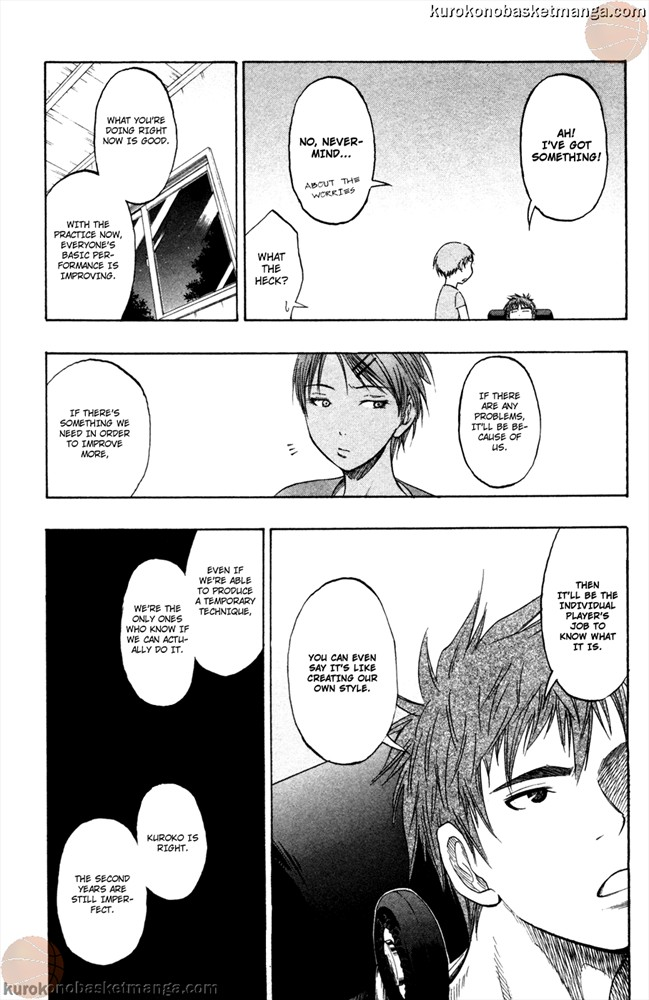 Kuroko no Basket Manga Chapter 59 - Image /0017