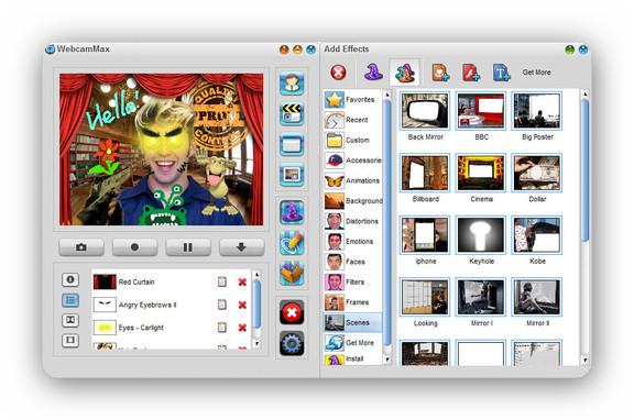 WebcamMax 7.7.7.8 [Multi] - A�ade efectos