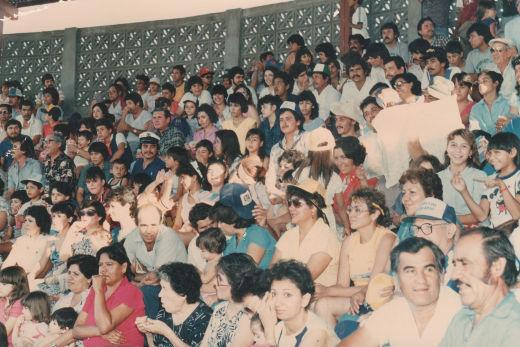 Público asistente al campeonato nacional menor de 1986