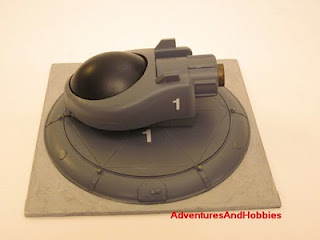 Tactical fighter left view Science Fiction war game terrain and scenery