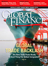 Global Finance magazine 04/2014 cover - free subscription.