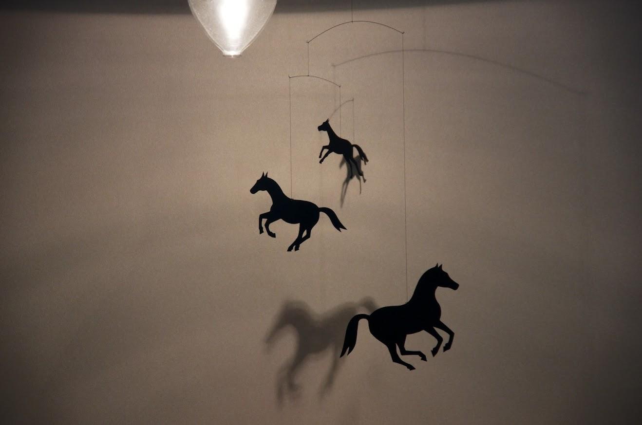 馬のオブジェ