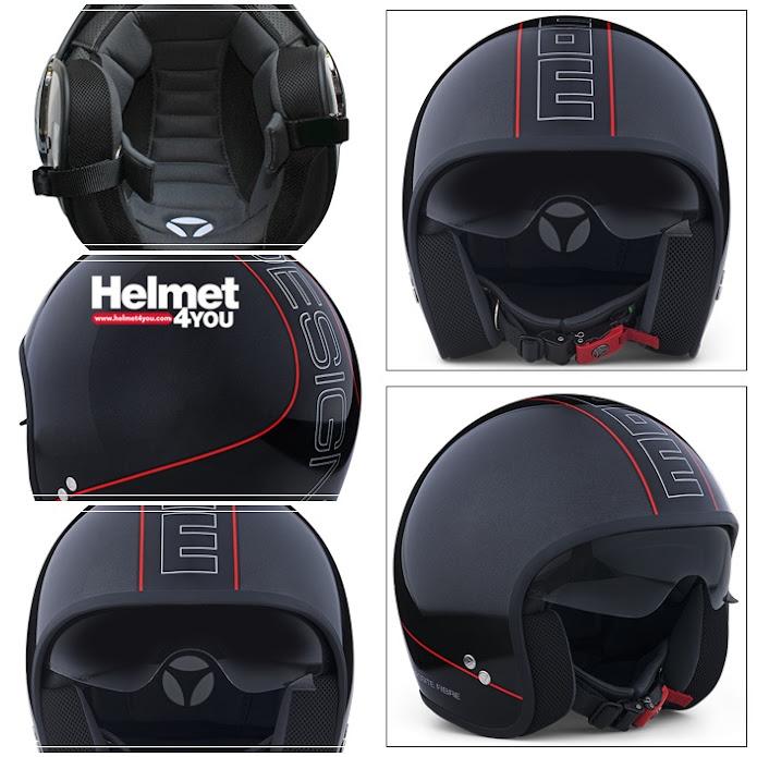 หมวกกันน็อค MOMODESIGN หมวกโมโม่ ITALY หมวกเวสป้า vespa MOMO Helmet A2S Auto2speeD Cruiser