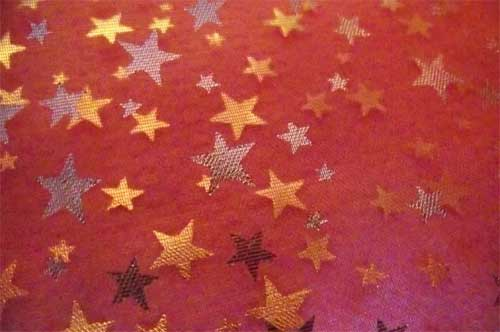 christmas red stars texture