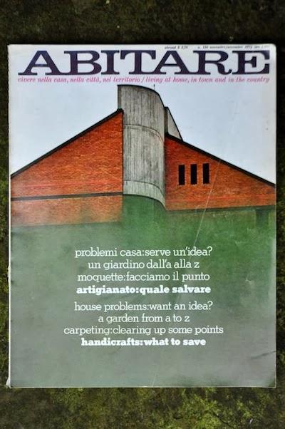 Abitare magazine from Eclecta Books.