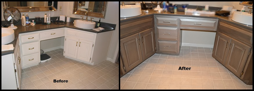 the biggest kitchen refinish job we've done - kansas city kitchen