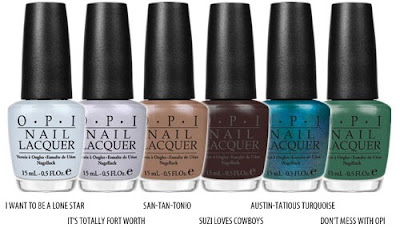opi+texas+1 OPI Texas Collection