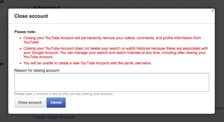 how to set up account on youtube
