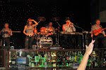 This is the Randy Anderson band, they were playing at the casino bar