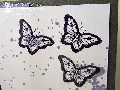 stampin up, papillon potpourri, gorgeous grunge, happy day, schmetterling, butterfly