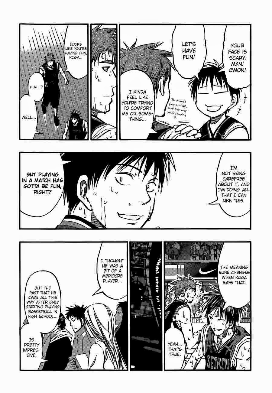 Kuroko no Basket Manga Chapter 256 - Image 06