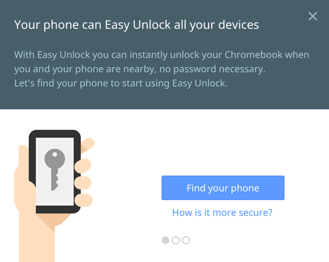 Chrome Easy Unlock