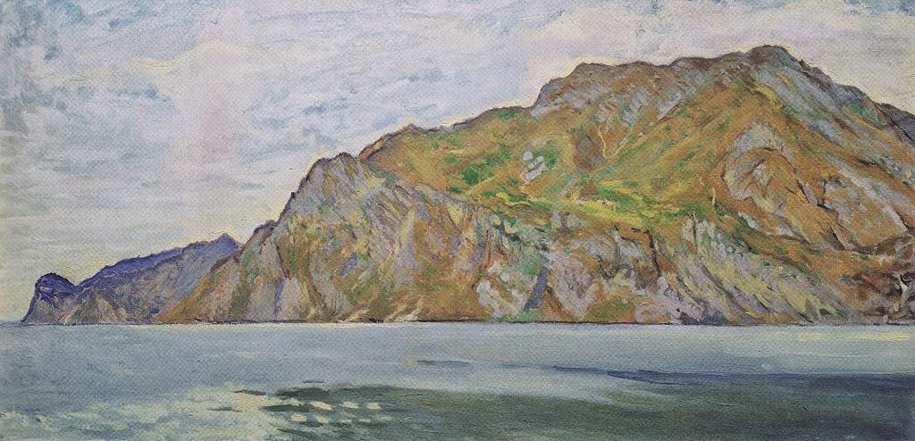 Koloman Moser - Lake Garda, 1912