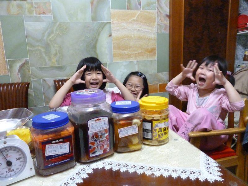 食用水果酵素完成&爆笑三姊妹
