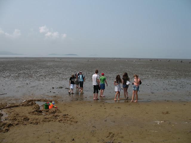 Пляж без моря