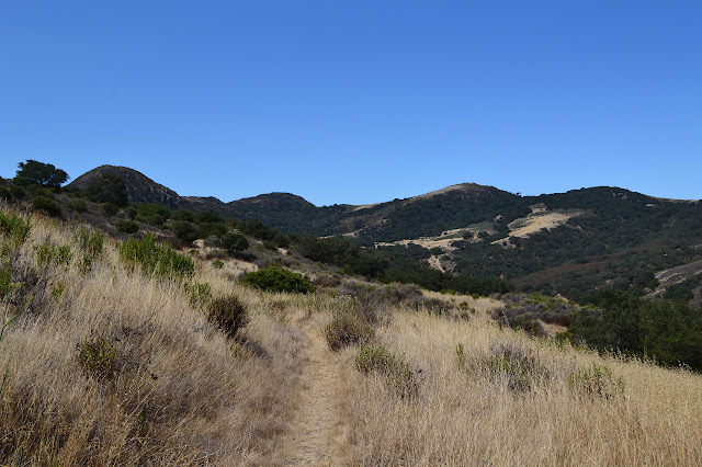 a bit of trail and a look at Gaviota State Park