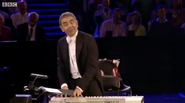 Olympic 2012 Mr Bean's Olympic orchestral appearance on London olympic 2012 opening ceremony