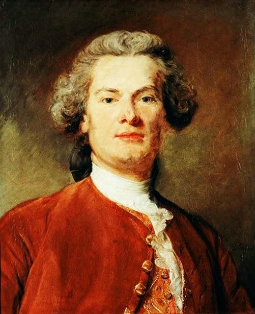 Jean-Baptiste Perronneau - Self-portrait
